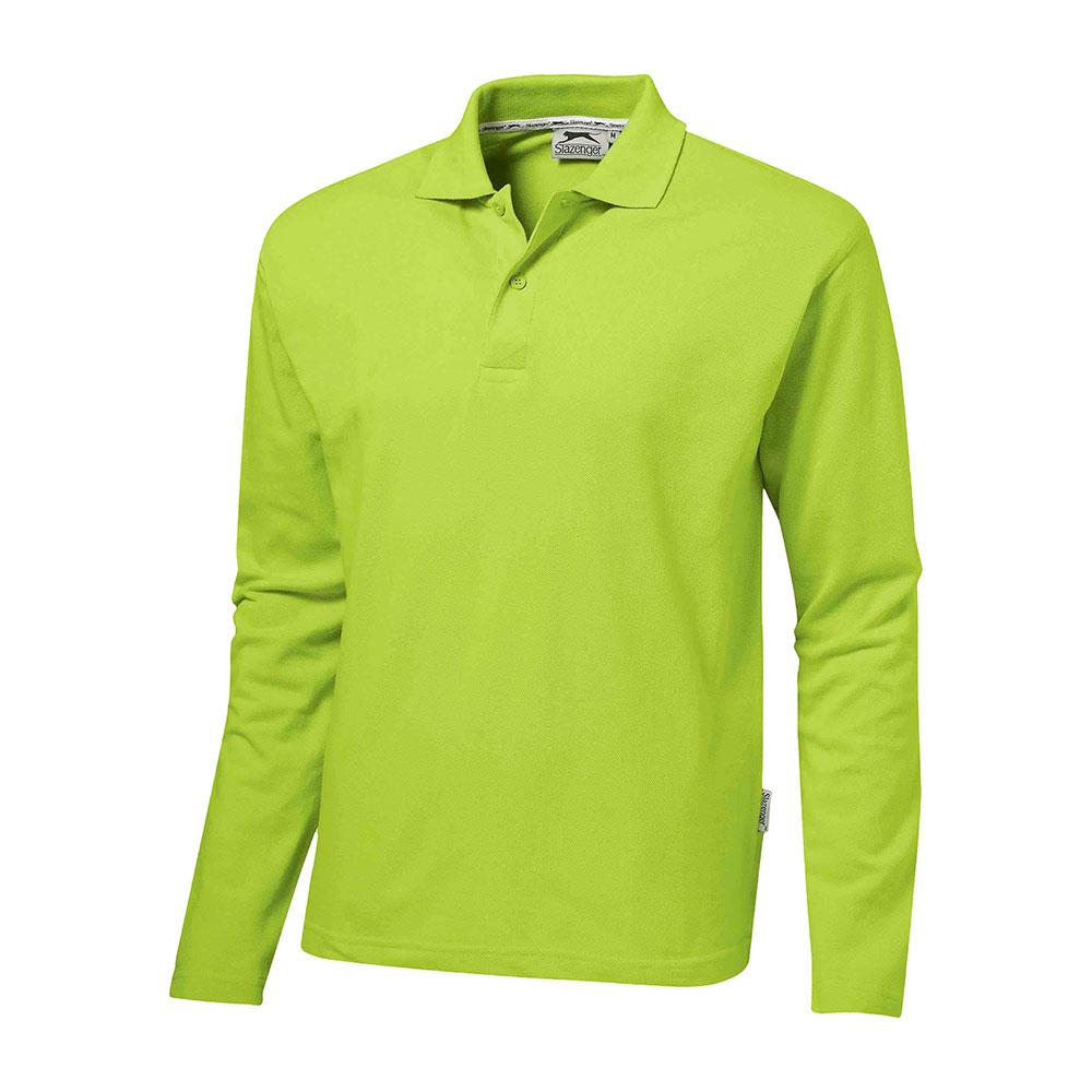 Zenith Mens Long Sleeve Golf Shirt Brand Me