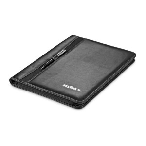 Eastbrook A4 Zip-Around Folder - Black