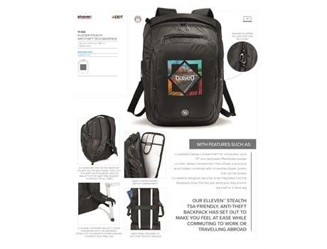 Elleven Stealth Tech Backpack-image