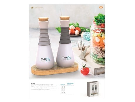 Smartly Dressed Oil and Vinegar Set-image