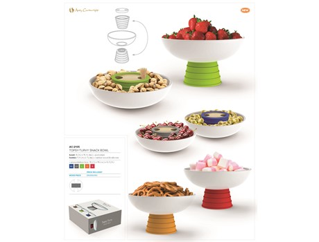 Topsy-Turvy Snack Bowl-image