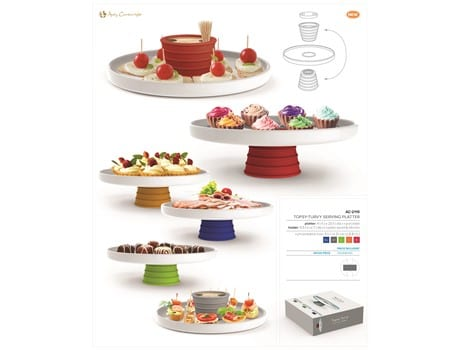 Topsy-Turvy Serving Platter-image