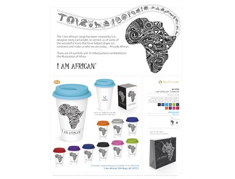 I am African Tumbler - 320ml-image