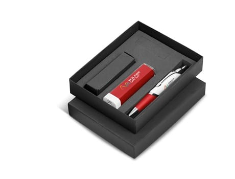 Omega Nine Gift Set 2200mAh - Red Only-image