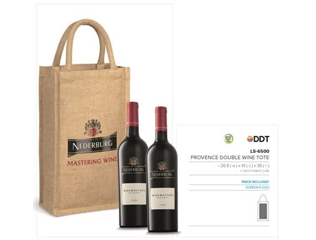 Provence Double Wine Tote-image