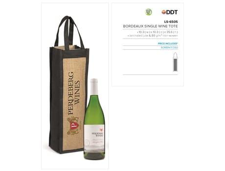 Bordeaux Single Wine Tote-image
