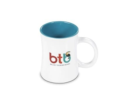 Deco Sublimation Mug - 380ml - Turquoise Only-image