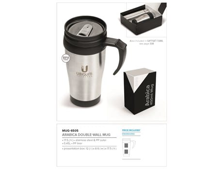 Arabica Double Wall Mug- 450ml-image
