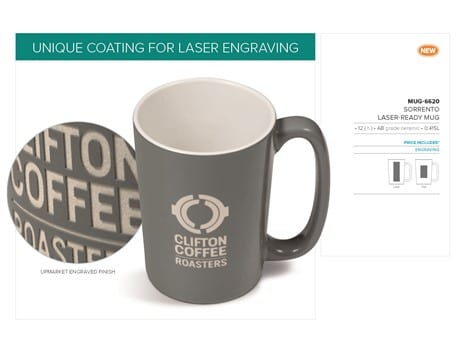 Sorrento Laser-Ready Mug - 415ml-image