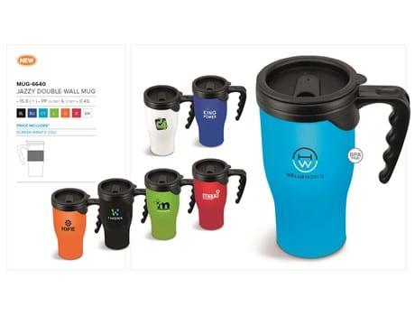 Jazzy Double-Wall Mug - 410ml-image