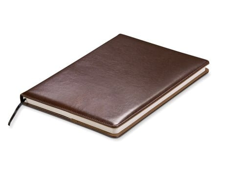 Baltimore Maxi Notebook (No Loops) - Brown Only-image