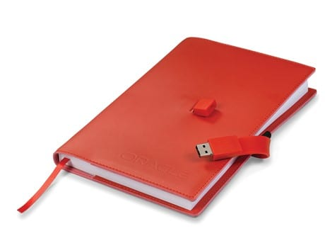 Sector Usb Notebook 8GB - Red Only-image
