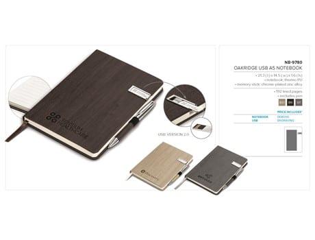 Oakridge USB A5 Notebook-image
