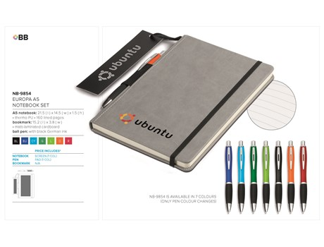 Europa A5 Notebook Set-image