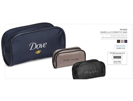 Isabella Cosmetic Bag - Fawn Only-image