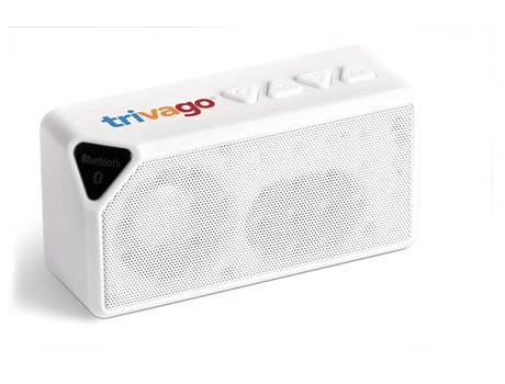 Sonic Bluetooth Speaker - Solid White Only-image