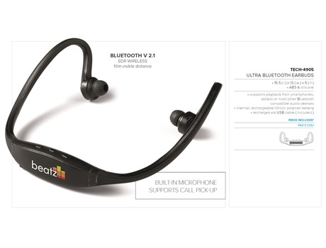 Ultra Bluetooth Earbuds-image