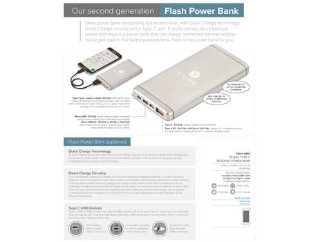 Flash Type-C 8000mAh Power Bank-image