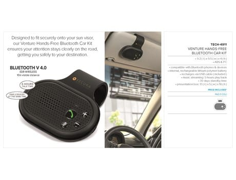 Venture Hands-Free Bluetooth Car Kit-image