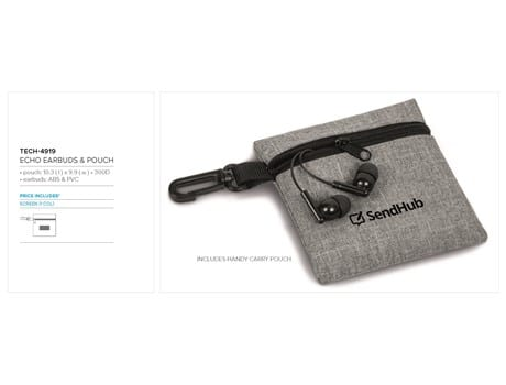 Echo Earbuds in Pouch-image