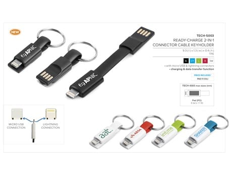 Ready-Charge 2-in-1 Connector Cable-image