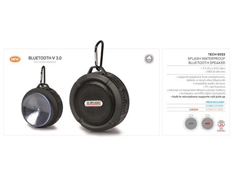Splash Waterproof Bluetooth Speaker-image
