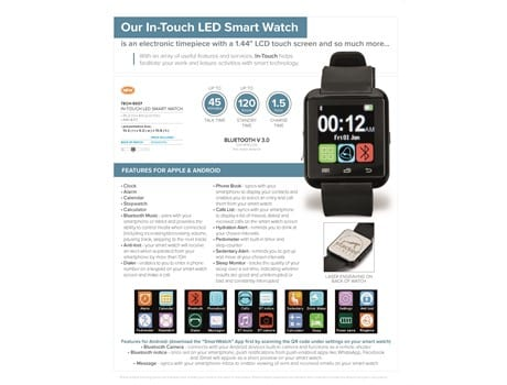 In-Touch LED Smart Watch-image