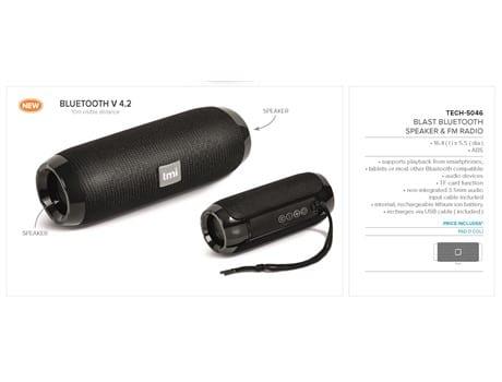 Blast Bluetooth Speaker and FM Radio-image