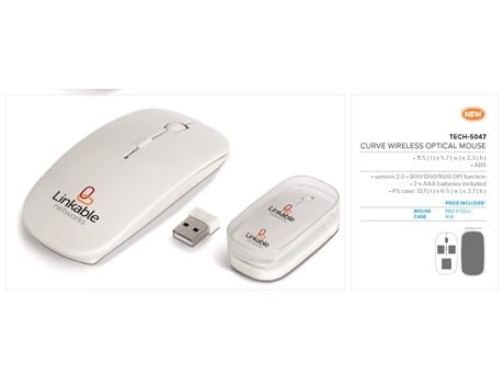 Curve Wireless Optical Mouse-image