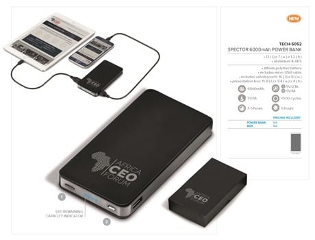 Spector 6000mAh Power Bank-image