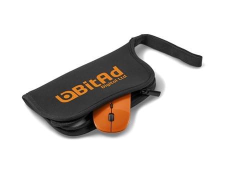 Omega Mouse Pad & Wireless Optical Mouse-image