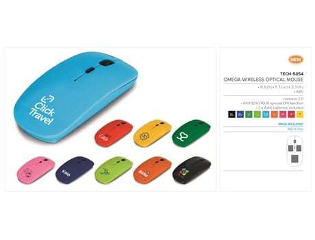 Omega Wireless Optical Mouse-image