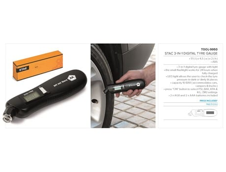 Bars 3-In-1 Digital Tyre Gauge-image